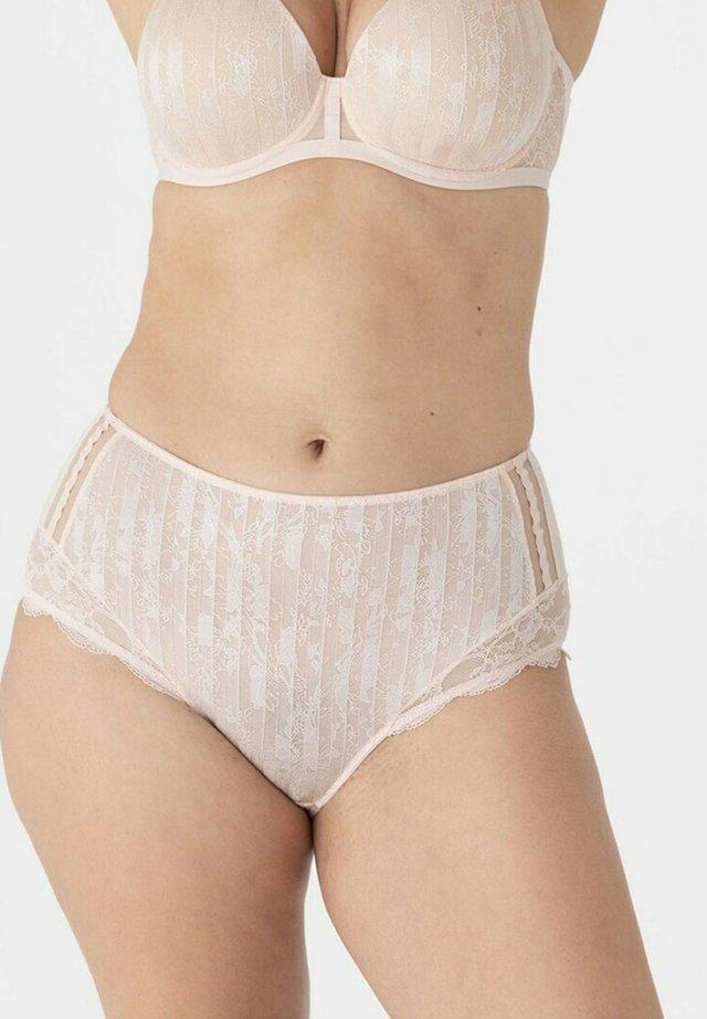 Pants - beige clair