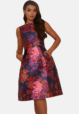 Cocktail dress / Party dress - multi coloured