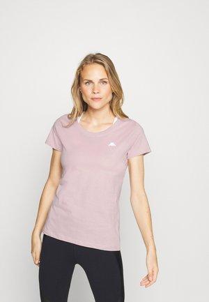 HALINA - Basic T-shirt - violet ice