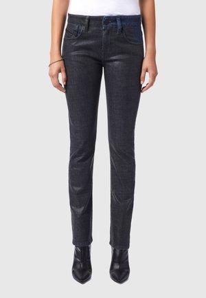 D-LYLA - Slim fit jeans - black/dark grey