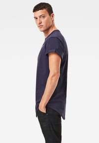 G-Star - LOGO ORIGINALS - Basic T-shirt - sartho blue - 0