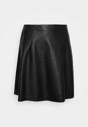 VIPEN SKATER SKIRT - Áčková sukně - black