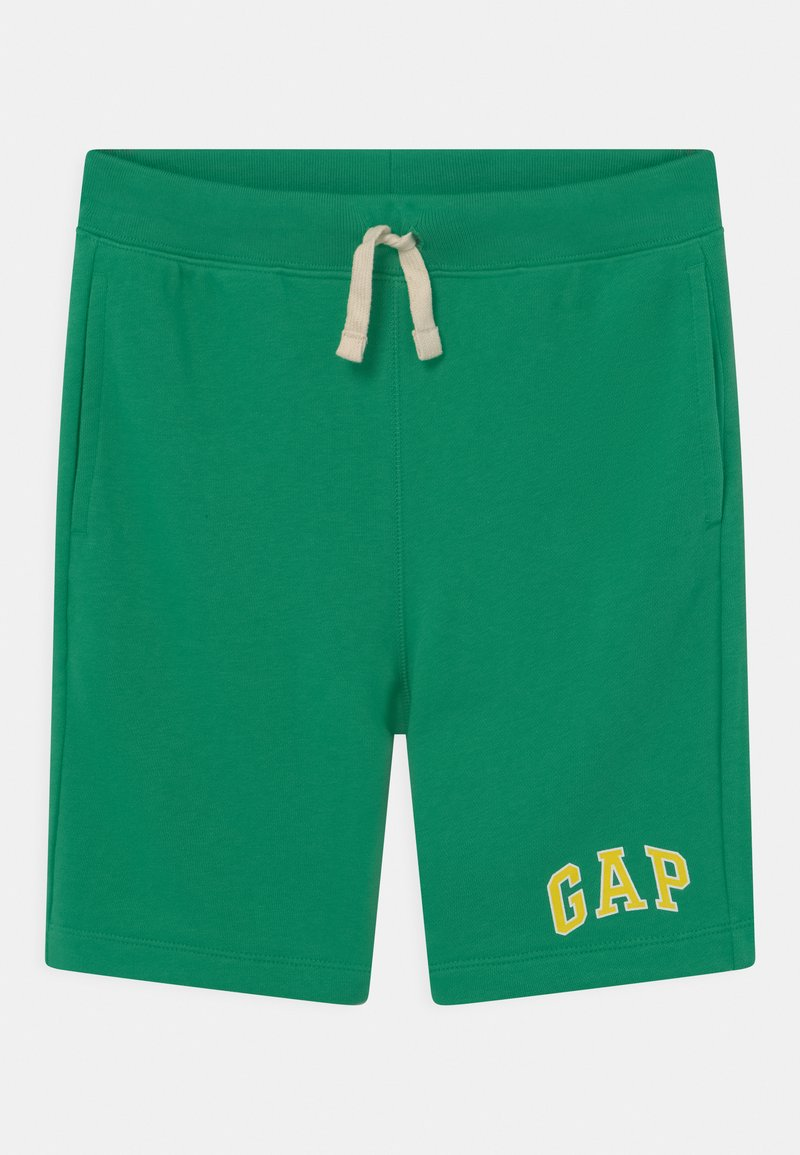 GAP - BOY LOGO  - Tracksuit bottoms - parrot green