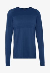 Jack & Jones - JCOZLS SEAMLESS TEE - Langarmshirt - sky captain - 3