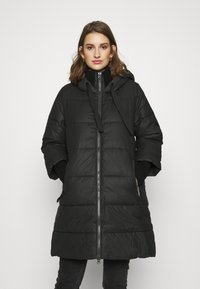Sisley - HEAVY JACKET - Winter coat - black - 0