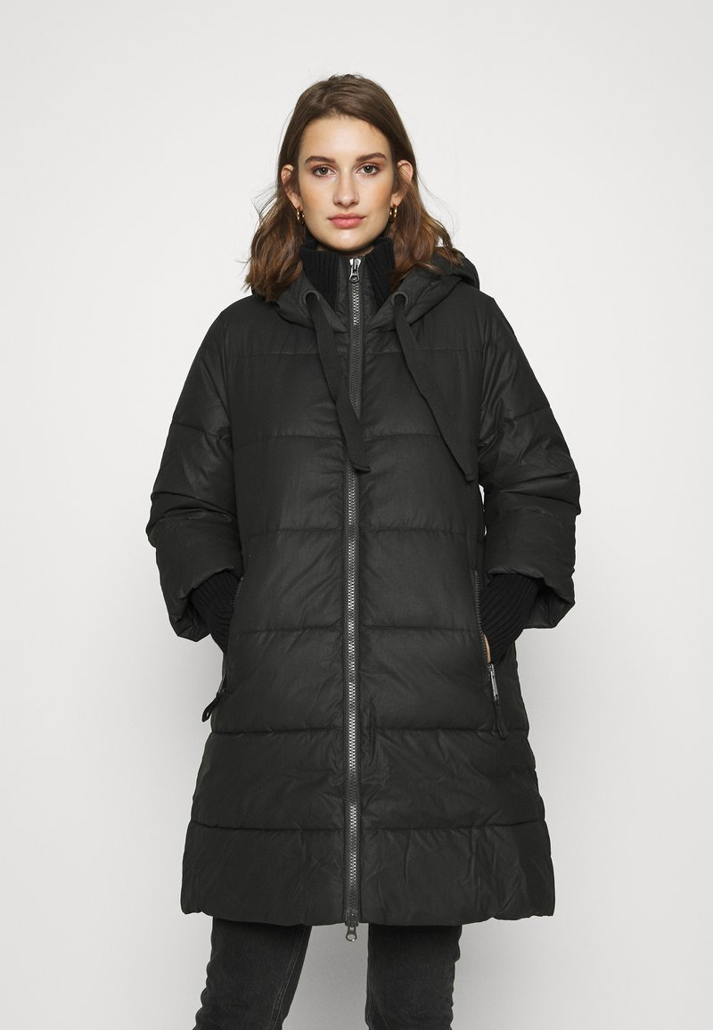 Sisley - HEAVY JACKET - Winter coat - black
