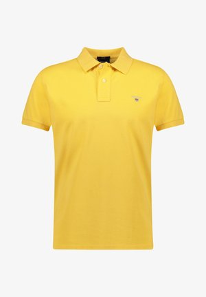 THE ORIGINAL RUGGER - Polo shirt - hellgelb (519)