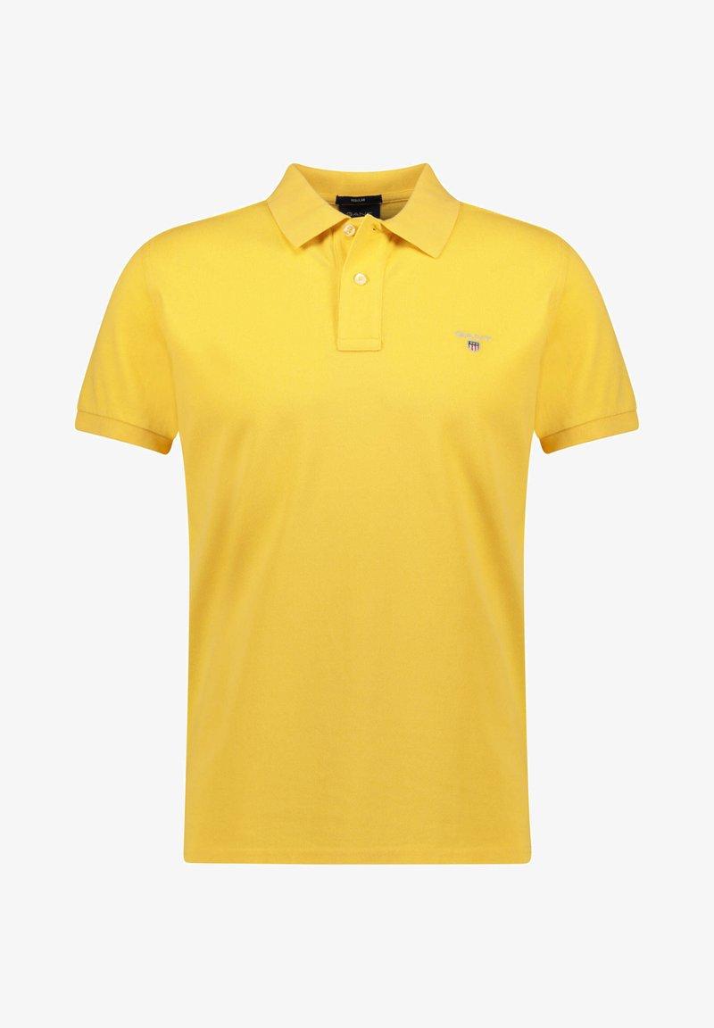GANT - THE ORIGINAL RUGGER - Polo shirt - hellgelb (519)