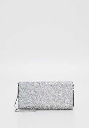 GLITTER FABRIC FRANCESINA - Clutch - silver