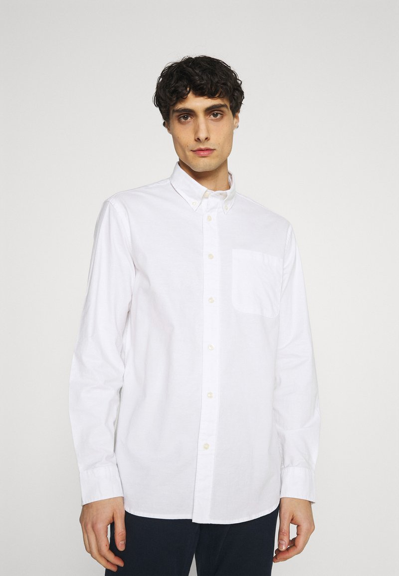 Selected Homme - SLHREGRICK FLEX - Shirt - white