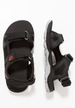 PUNO BEACH - Walking sandals - black