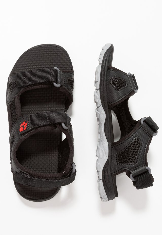 PUNO BEACH - Outdoorsandalen - black