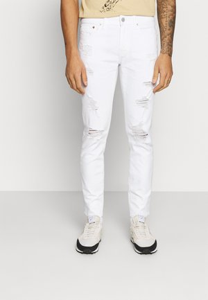 Jeansy Skinny Fit - white