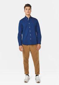 WE Fashion - SLIM FIT - Overhemd - indigo - 1