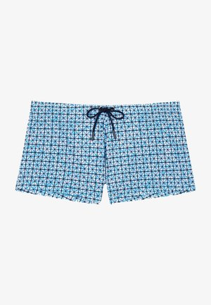 AUSMANE - Swimming shorts - turquoise print