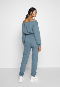 Nly by Nelly - COZY PANTS - Tracksuit bottoms - blue - 2
