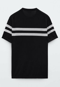 Massimo Dutti - Print T-shirt - blue - 4