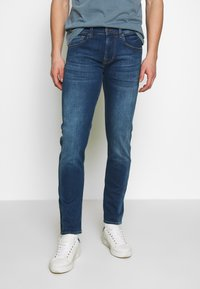 7 for all mankind - SLIMMY TAP - Vaqueros slim fit - mid blue - 0