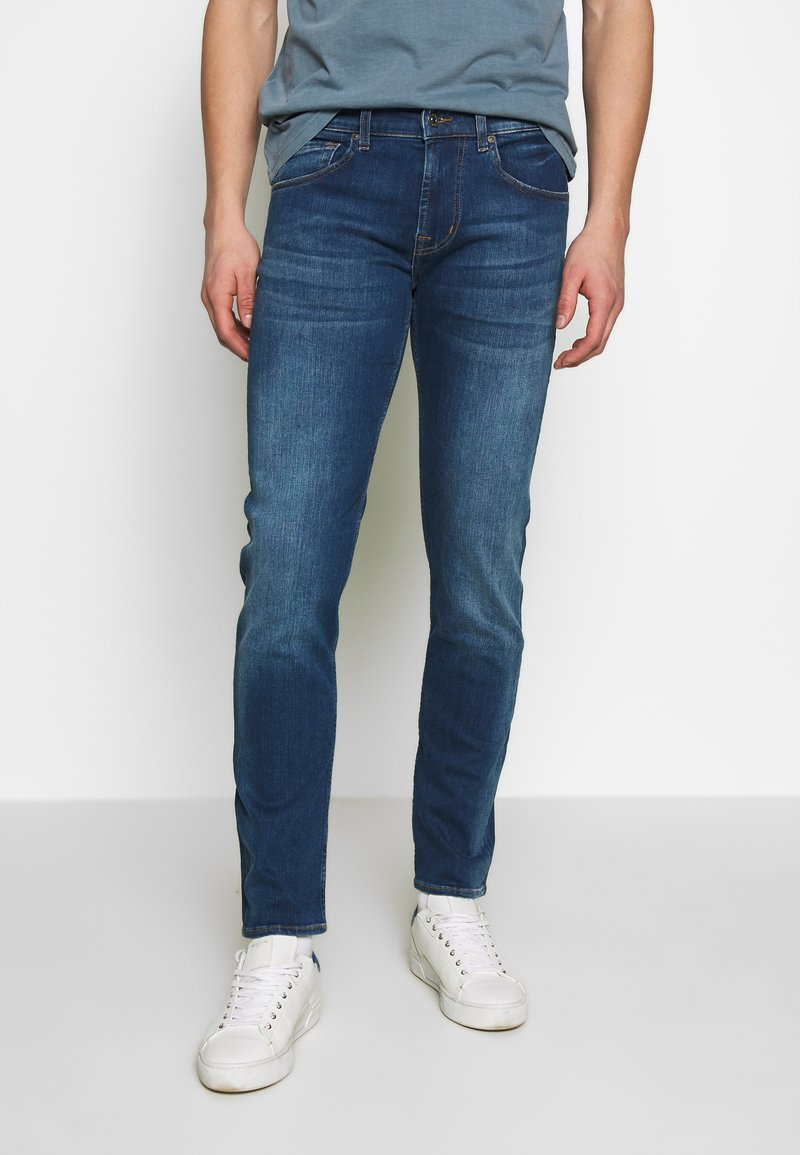 7 for all mankind - SLIMMY TAP - Vaqueros slim fit - mid blue