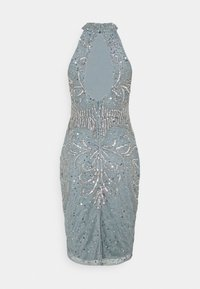 SISTA GLAM PETITE - GLOSSIE  - Cocktail dress / Party dress - grey/blue - 6