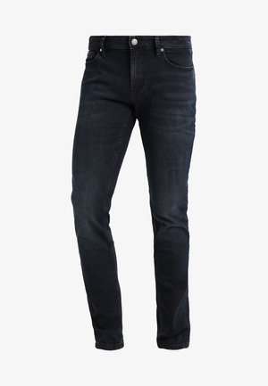 SLIM SCANTON COBCO - Džíny Slim Fit - cobble black comfort