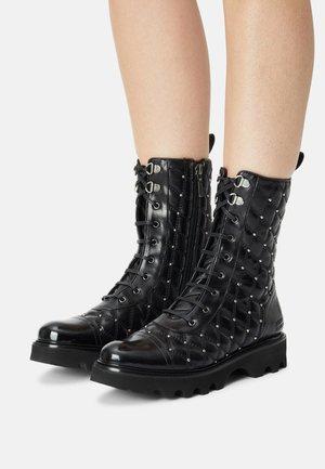 BONNIE  - Lace-up ankle boots - black