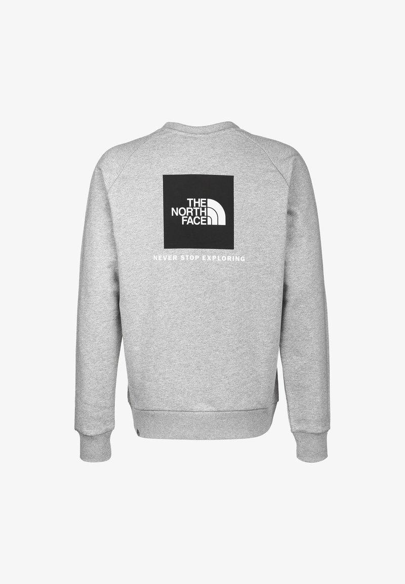 The North Face - RAGLAN REDBOX CREW NEW  - Sweater - light grey heather