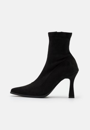 FEATURE SOCK BOOTS - Botki - black