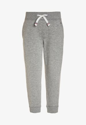 BOYS BASIC  - Tracksuit bottoms - grey heather