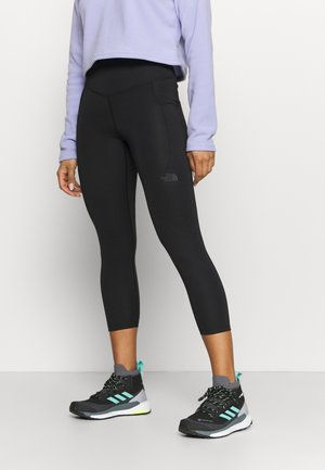 MOTIVATION POCKET CROP - Leggings - black