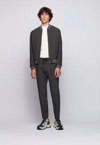 BOSS - BARDON - Trousers - dark grey - 1