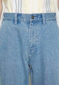 Obey Clothing - HARD WORK CARPENTER - Straight leg -farkut - light indigo - 5