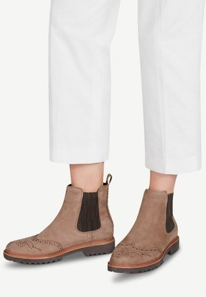 Ankle boots - antelope