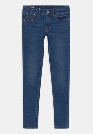 PIXLETTE - Jeans Skinny Fit - dark-blue denim