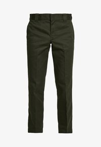 873 SLIM STRAIGHT WORK PANT - Trousers - olive green