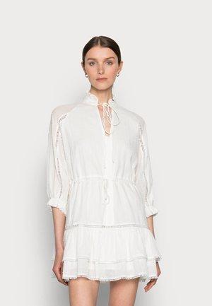 DENISA DRESS - Košilové šaty - white