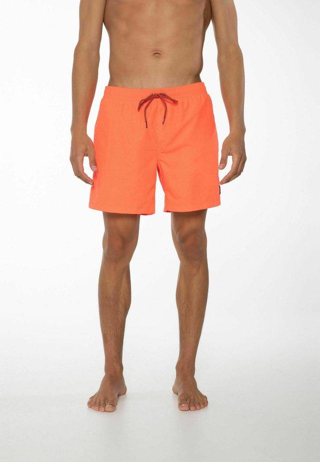 FASTER - Zwemshorts - neon pink