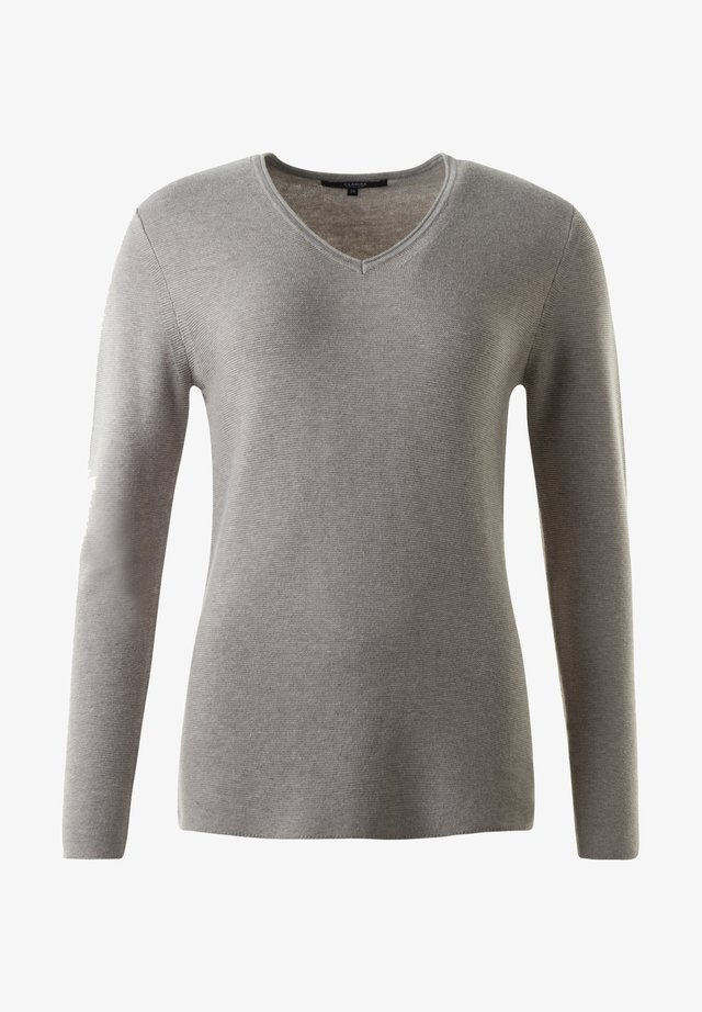 HOLLY - Sweatshirt - taupe mel