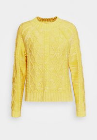 CABLE CREW - Jumper - misted yellow