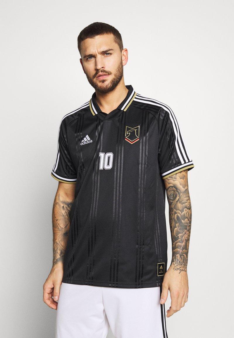 adidas Performance - DEUTSCHLAND MÜNCHEN JSY - Print T-shirt - black
