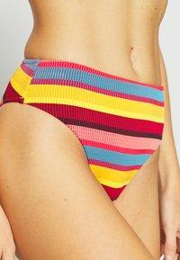 Seafolly - BAJA STRIPE HI RISE - Bikini bottoms - saffron - 4