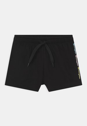 COLOR LOGO UNISEX - Sports shorts - black