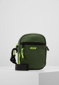MSGM - Across body bag - army - 0
