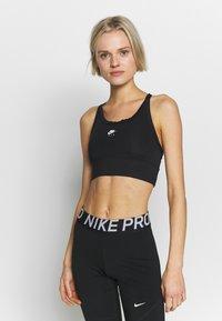 Nike Performance - Urheiluliivit: keskitason tuki - black/white - 0