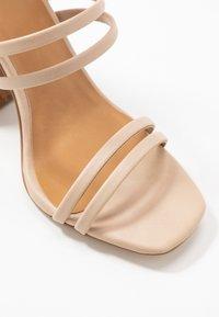 Call it Spring - GUVEN - High heeled sandals - bone - 2