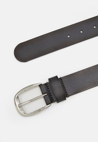 Zign - LEATHER - Riem - dark grey - 1