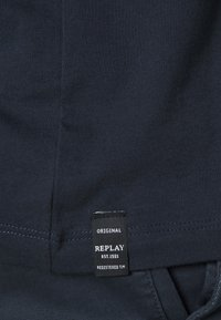 Replay Plus - 2 PACK  - Basic T-shirt - cold grey/navy - 7
