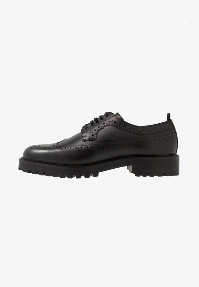 SEAN LONGWING BROGUE - Derbies - black