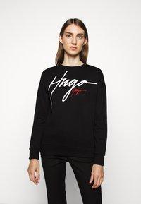 HUGO - NACINIA - Sweatshirt - black - 2