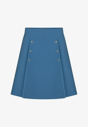 A-line skirt - royal blue